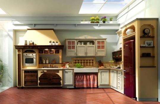 Cucine Muratura Provenzali Country - Cucine Artigianali ...